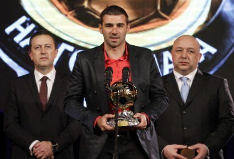 Владо Стоянов е Футболист номер 1 на България за 2014 г.