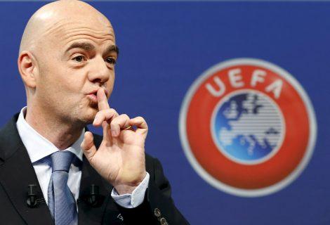 Джани Инфантино е новият шеф на ФИФА