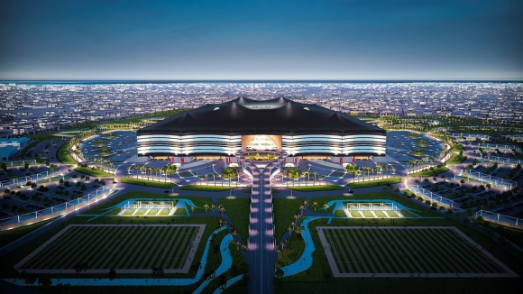 Феновете на световното в Катар на палатки в пустинята