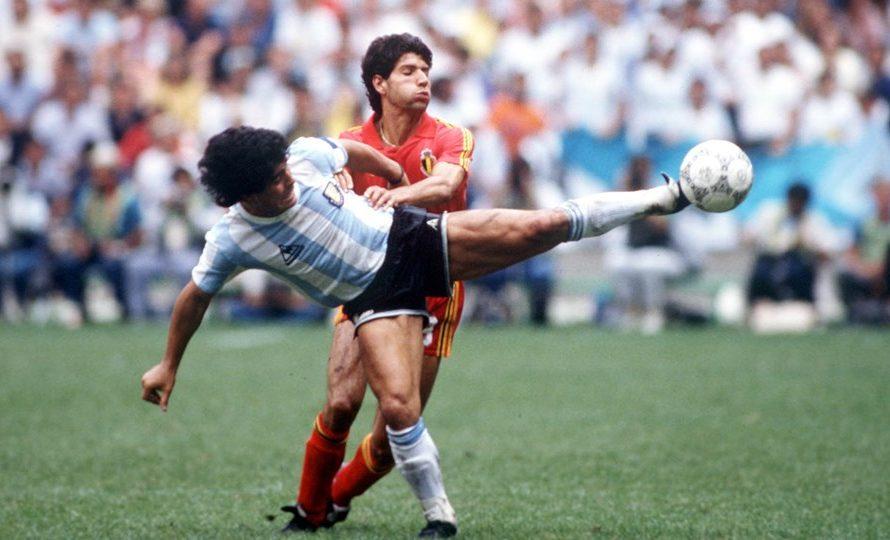 Скифо и страхопочитанието му към Диего Марадона от Световно 1986