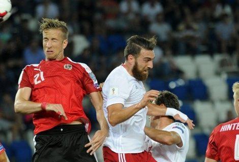 Австрия победи Грузия и започна добре квалификациите за Световно 2018