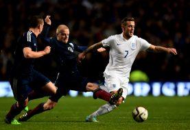 Три гола с глава белязаха разликата в класите Англия и Шотландия