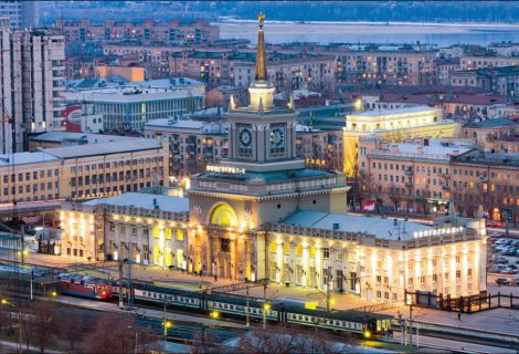 Волгоград - съкровището на Южна Русия
